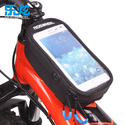 Qoo10 Roswheel Bicycle Bag Mtb Bike Front Frame Top Tube Bag Cycling Bags Ac Sports Equipment