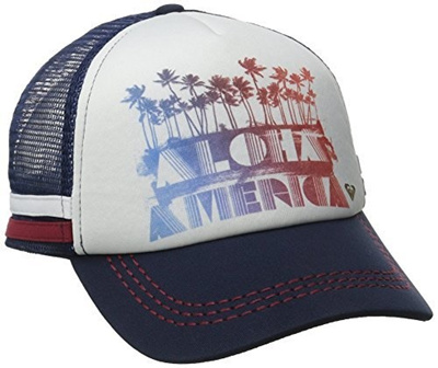 14d47e127 Roxy Junior s Dig This Aloha America Trucker Hat?? Eclipse?? One Size  B016BKCBZE
