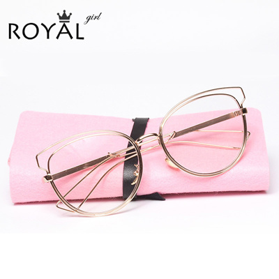 265592aaff Qoo10 - ROYAL GIRL High quality Eyeglasses frames women metal Optical  glasses ...   Fashion Accessor.
