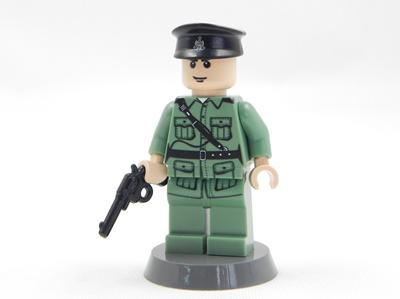 Qoo10 Royal Hong Kong Police Minifigure Compatible With