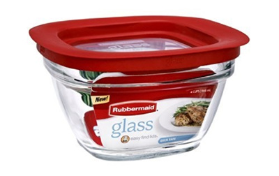 (Rubbermaid) Rubbermaid Food Storage Container Freezer Glass 4 Cup Square-  sc 1 st  Qoo10 & Qoo10 - (Rubbermaid) Rubbermaid Food Storage Container Freezer ...