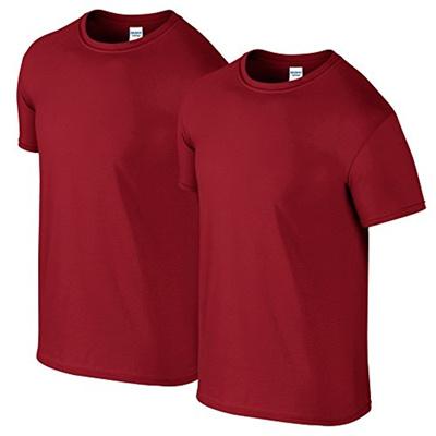 [runcity] GILDAN Herren T-Shirt Gildan Adult 2er-Pack 64000 Crew Neck