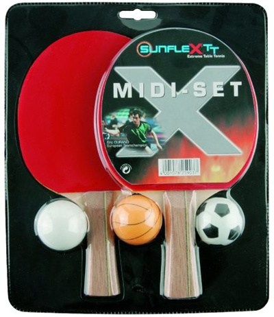 [runcity] sunflex sport Tischtennis-Set MIDI [Direct from Germany] : table tennis set sports direct - pezcame.com