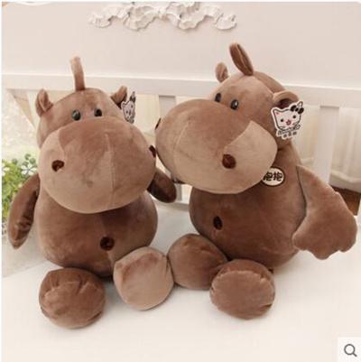 Qoo10 - [Ruthless soft] Hippo dolls pillow plush toys cushions dolls ...