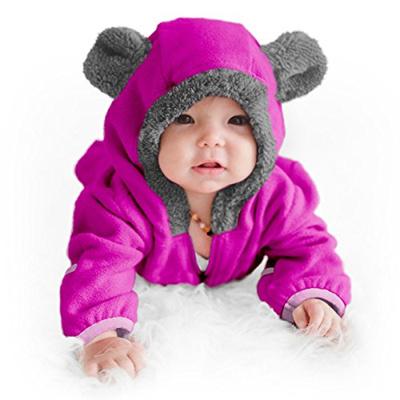 c20ac595c Qoo10 - S Funzies Fleece Baby Bear Bunting Jacket - Infant Pajamas ...