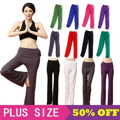 22f659458a913 S-XXXL yoga pilates dance pants home wear genie pants lounge pants Long  Pants