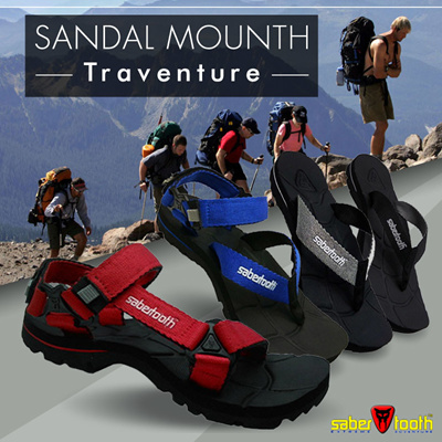 SABERTOOTH Sandal Gunung Traventure size 32 s d 47 All Stylish Mountain  Footwear Series 90d8f71050