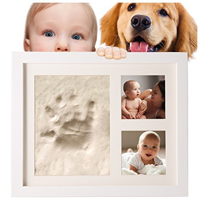 Qoo10 - SafBabies Baby Handprint and Footprint Clay Kit Picture ...