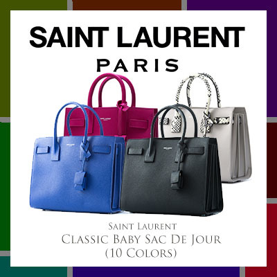 Saint Lauren ParisSaint Laurent Classic Baby Sac De Jour (Available In 10 Colors)