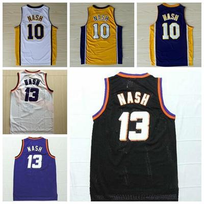 new product d2580 e64a2 Sale 13 Steve Nash Throwback Jerseys Sports Fashion Rev 30 New Material  Retro 10 Steve Nash Shirt Un