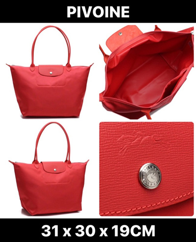 0aa3c2eae2aa  SALE Longchamp Le Pliage Neo Long Handle Large Peony 1899 578 A27