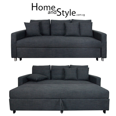 Qoo10 SALE Luxury Vernon Sofa Bed SOFA BED 1 Year Warranty ★Couch★Sofabed★H Furniture