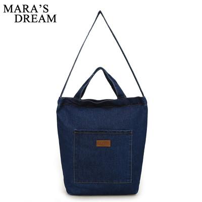 Mara S Dream New Women Messenger Bags Denim Shoulder Bag Handbags For