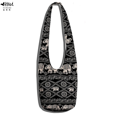 sale New Women Ethnic Tribal Bags Cotton Canvas Hippie Hobo Sling Cross  body Bag Messenger Purse eedb76d675