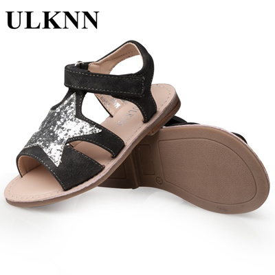 2c8678388c9d Qoo10 - sale ULKNN Girls Sandals Children Shoes Glitter Star Candy Color  White...   Kids Fashion