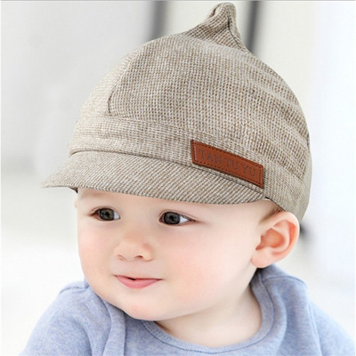 a4c0b18bedd sale XCQGH Baby Boy Hat Plaid Design England Style Children Fashion Cap  Summer Berets Baby Hat
