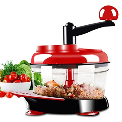 Salsa Maker, Hand Powered Miracle Chopper Baby Multi Vegetable Chopper Meat  Grinder Fast Salsa