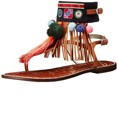 3723b625524be1 COM  (Sam Edelman) Women s Sandals DIRECT FROM USA Sam Edelman new arrive  780e3 9d2ad  Sam Edelman Womens Gere Leather Embroidered ...
