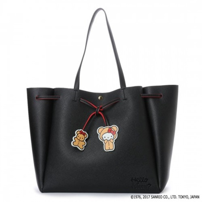 137f69f2d6 Qoo10 - Japan COLORS by Jennifer Sky Hello Kitty Edition Tote   Bag ...