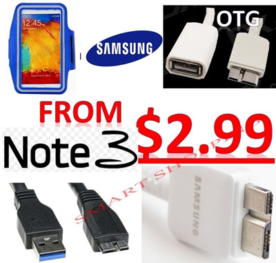 Samsung Galaxy Note 3 III 1M 1 5M USB 3 0 cable OTG High Speed Charging  Micro USB