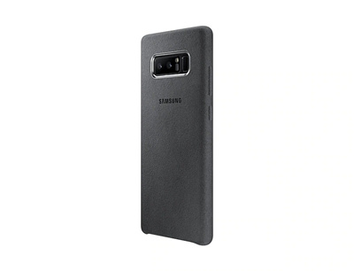 size 40 2a52e 9af3c Samsung galaxy note 8 alcantara cover gray