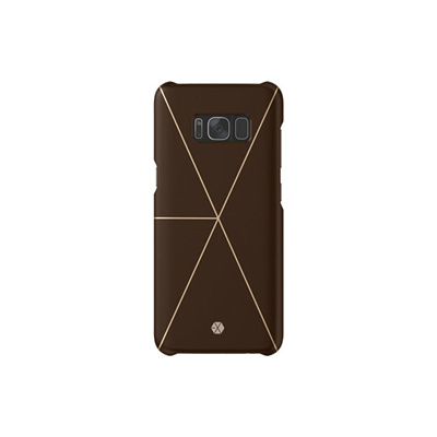 buy online 55472 1bd7a Qoo10 - Samsung Galaxy S8 EXO Smart Cover GP-G950HICPBKA Brown ...