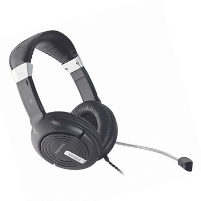 SAMSUNGGenuine Samsung SHS-160V PC Stereo Headset Fabric cable with Remote  Control