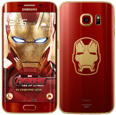 Samsung's iron man edition galaxy s6 edge lacks j. A. R. V. I. S.