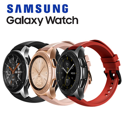 SAMSUNG[Samsung ] Galaxy Watch Bluetooth connection Android and iOS  Smartwatch / 42mm 46mm / Wearable Band