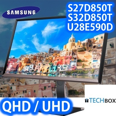 SAMSUNGSamsung monitors S27D850T S32D850T U28E590D Business LED Monitor QHD  UHD | SAMSUNG WARRANTY 3 YRS