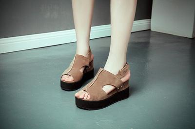 Qoo10 - Sandal Wanita Wedges   Sepatu 3b6aa86ce7