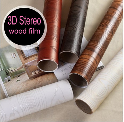 Sandalwood 3d wood wall paper/The cheapest Self-adhesive Wallpaper 1-2 days  delivery