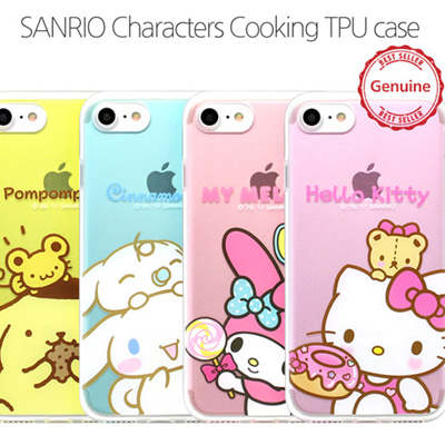 online store 8163f 6a715 SANRIO HELLO KITTYHello Kitty Friends Cooking Case iPhone 5/ 5S Case/  iPhone SE Case 4 Types Case made in Korea