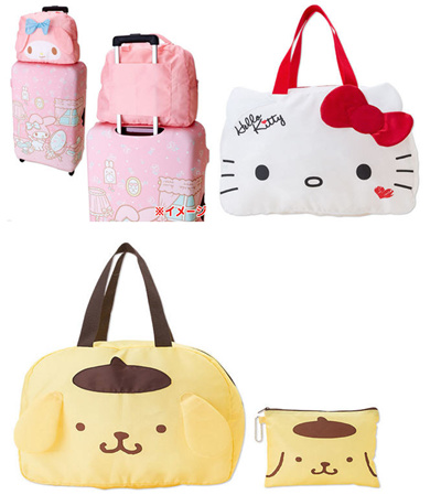 0fa50155bdf7 SANRIO TRAVEL BAG LUGGAGE ORGANISER FOLDABLE WATER PROOF CHRISTMAS SHOES BAG
