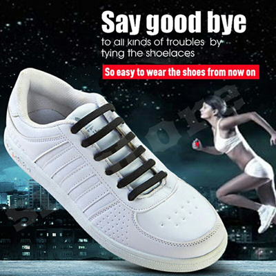 232d569d3ae [Coolnice]Say goodbye to tying shoelaces with Eco-friendly silicone  shoelace for sneaker sports running shoes