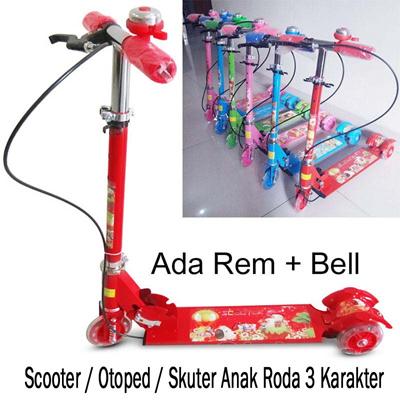 Scooter Otoped Skuter Anak Roda