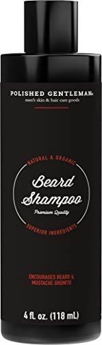 [sb]Beard Growth and Thickening Shampoo - With Organic Beard Oil - Beard  Grooming kit - For Facial H