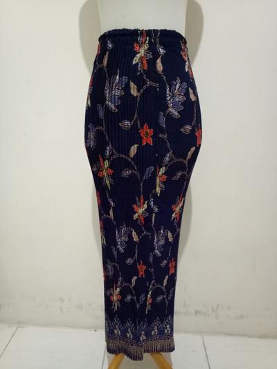 SB Collection Plisket Skirt Helen Maxi Panjang Jumbo Batik Wanita