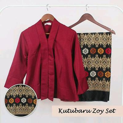 Qoo10 - SB Collection Stelan Kebaya Reza Blouse Tops and Lilit Maxi Batik Wani... : Women's Clothing