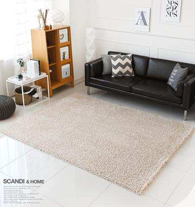 Qoo10 Scandi Gy Carpet Rug 45mm Living Room Luxury Mix Beige Furniture Deco