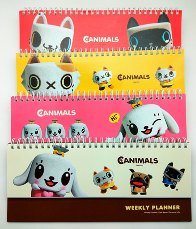 Qoo10 Schedule Weekly Plan Design Canimals Pinkfoot 19 583
