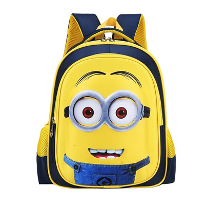 Qoo10 - School bag small yellow man boy 1-3 grade Kindergarten backpack  childr...   Kids Fashion e2153c4eb3dcf
