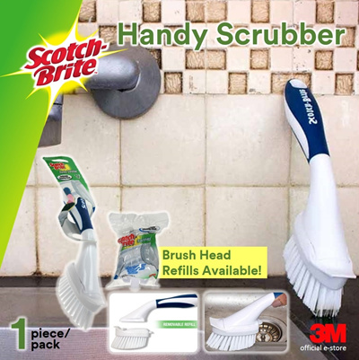 [Official E-Store] Scotch-Brite® Handy Scrubber with Brush Head -