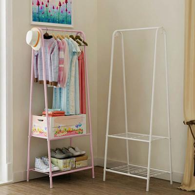 Qoo10 scv008 iron simple open closet budget wardrobe for Iron closet storage