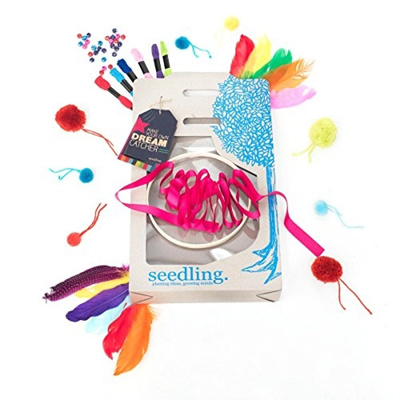 Qoo40 Seedling Make Your Own Dreamcatcher Activity Kit Enchanting Dream Catcher Kits Supplies