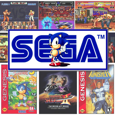 SEGA GENESIS MEGADRIVE 2 3 RETRO GAME CARTRIDGES TOYS GAMES GIFTS HOLIDAY  RELIVE CHILDHOOD 1980S