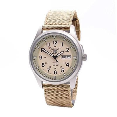 f3769e97ec8 Qoo10 - Seiko Watches Seiko Mens 5 Sports Desert Military Automatic Mens  Snzg0...   Watch   Jewelry