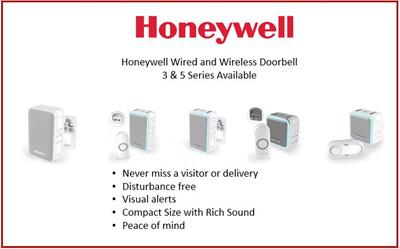 Qoo10 wireless doorbell furniture deco honeywellhoneywell wired and wireless doorbell 3 and 5 series available for grab swarovskicordoba Image collections