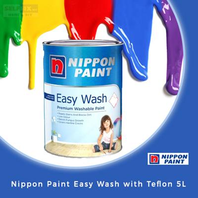 SELFFIX COUPON【Nippon Paint】 Easy Wash with Teflon 5L