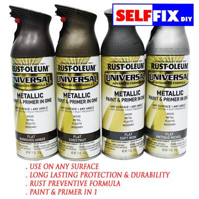 Rust Oleum Universal Metallic Paint And Primer